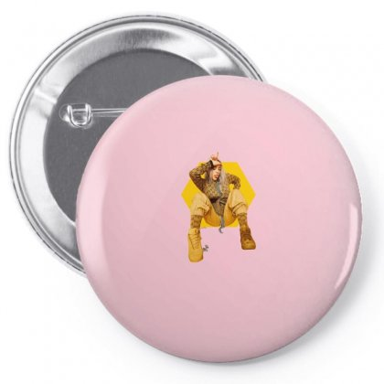 Billie Eilish Pin-back Button Designed By Zeynepu
