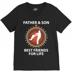 Father And Son Best Friends For Life V-Neck Tee | Artistshot