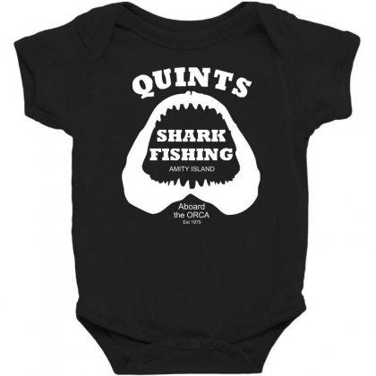 Jaws Inspired Movie Baby Bodysuit