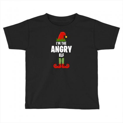 I'm The Angry Elf Toddler T-shirt Designed By Killakam