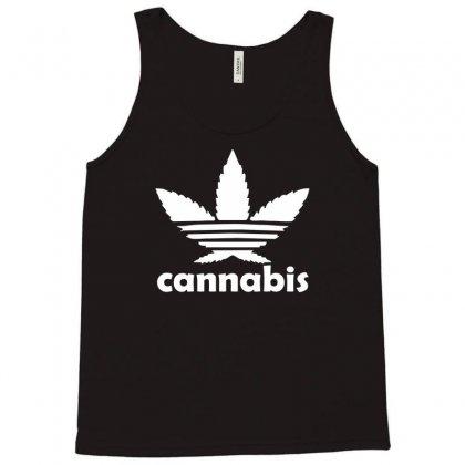 Cannabis Tank Top Designed By Mdk Art