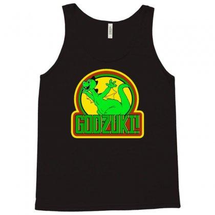 Godzilla Godzuki Tank Top Designed By Mdk Art