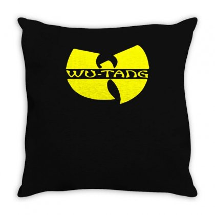 Wu Tang Throw Pillow Designed By Mdk Art