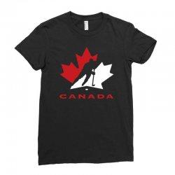 hockey canada Ladies Fitted T-Shirt | Artistshot