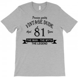 aged 81 years T-Shirt | Artistshot