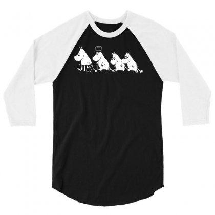 Moomin Moomin Camden Tove Janson 3/4 Sleeve Shirt Designed By Mdk Art
