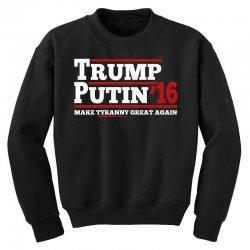 Trump Putin 2016 Youth Sweatshirt | Artistshot