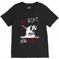 no bike no life V-Neck Tee | Artistshot