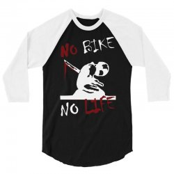 no bike no life 3/4 Sleeve Shirt | Artistshot