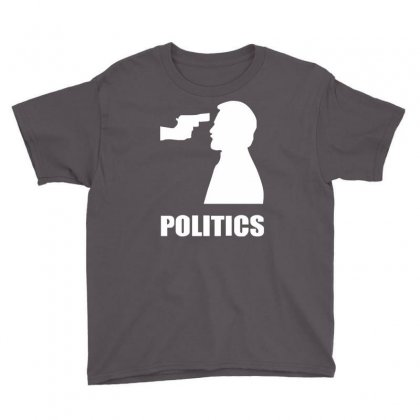 Politics Youth Tee Designed By Mdk Art