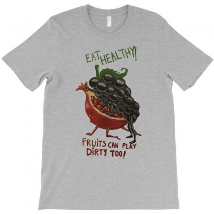 Eat Fruits T-shirt Designed By Tonyhaddearts