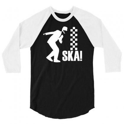 Ska Walt Jacobs 3/4 Sleeve Shirt Designed By Mdk Art