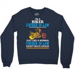 Biker Father In Law... Crewneck Sweatshirt   Artistshot