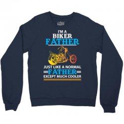 Biker Father... Crewneck Sweatshirt | Artistshot