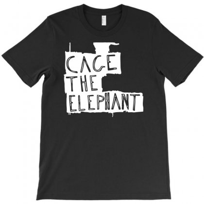 Cage The Elephant Logo T-shirt Designed By Jerry