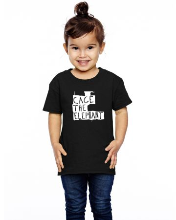 Cage The Elephant Logo Toddler T-shirt Designed By Jerry