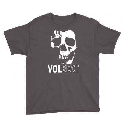 Volbeat Danish Rock Band Cool Skull Youth Tee Designed By Mdk Art