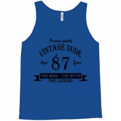 aged 87 years Tank Top | Artistshot