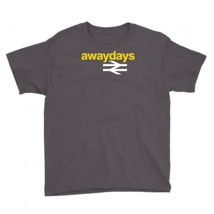 Away Days Football Casual Youth Tee Designed By Andini