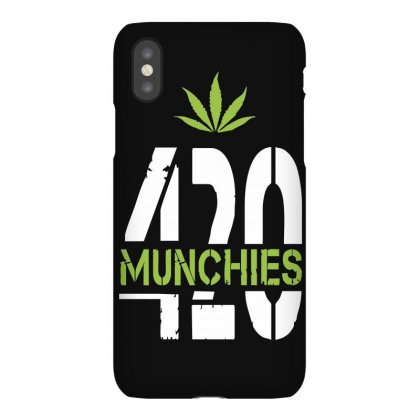 420 Munchies Weed Leaf Iphonex Case Designed By Mdk Art