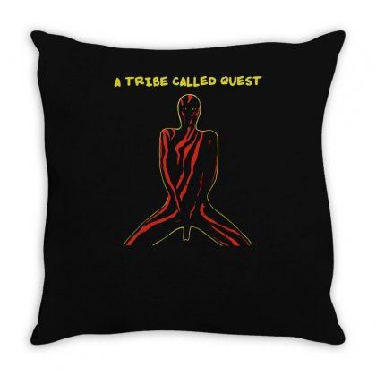 A Tribe Called Quest Throw Pillow Designed By Mdk Art