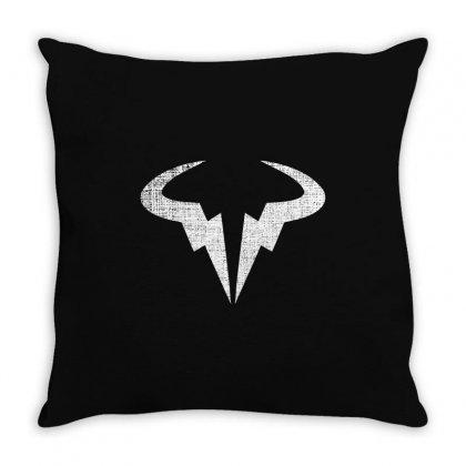 Rafael Nadal For Dark Throw Pillow Designed By Sengul