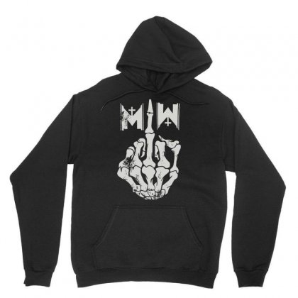 Motionless In White Men's Middle Finger Unisex Hoodie Designed By Andini