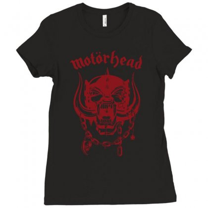 Motorhead Rock Band Ladies Fitted T-shirt Designed By Andini