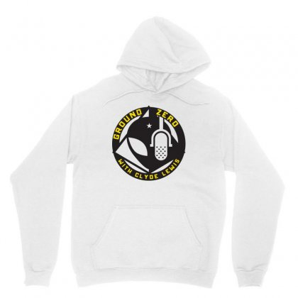 Ground Zero With Clyde Lewis Unisex Hoodie Designed By Tee Shop