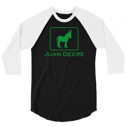 Juan Deere 3/4 Sleeve Shirt Designed By Narayatees