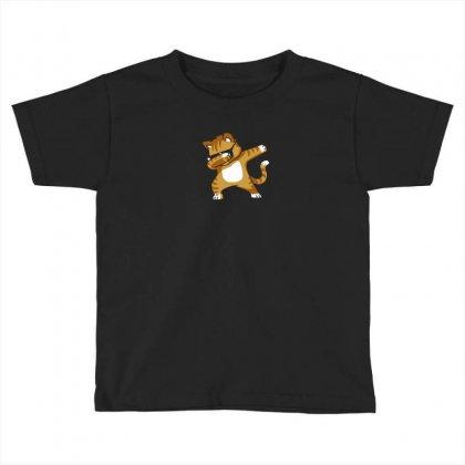 Caramel   Dabbing Cat Toddler T-shirt Designed By Mdk Art