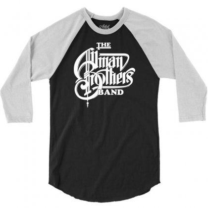 The Allman Brothers 3/4 Sleeve Shirt Designed By Andini