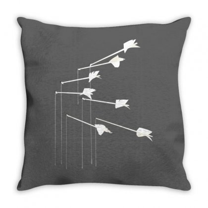 Silhouette Design Modest Mouse Float On Throw Pillow Designed By Hektoart