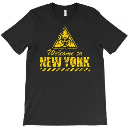 Welcome To New York T-shirt Designed By Andini