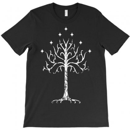 White Tree Of Gondor Tolkien T-shirt Designed By Andini