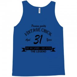 wintage chick 31 Tank Top | Artistshot