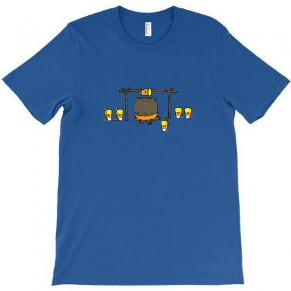 Candy Corn Cannibalism T-shirt Designed By Bapakdanur