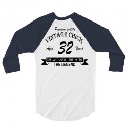 wintage chick 32 3/4 Sleeve Shirt | Artistshot