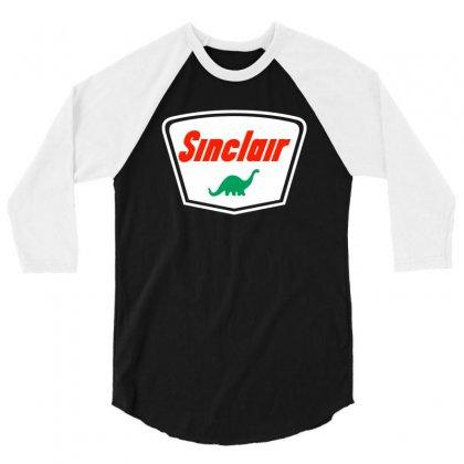 Sinclair Motor Oils 3/4 Sleeve Shirt Designed By Sayasiti