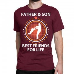 Father And Son Best Friends For Life Classic T-shirt Designed By Sabriacar