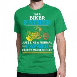 Biker Father... Classic T-shirt Designed By Sabriacar