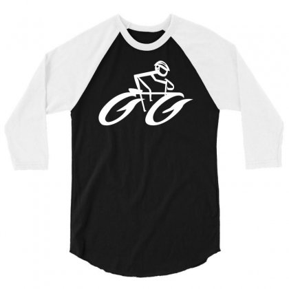 Cyclist Road Bike Biking 3/4 Sleeve Shirt Designed By Satuprinsip