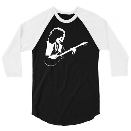 Brian May Queen 3/4 Sleeve Shirt Designed By Marpindua21