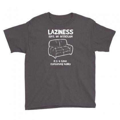 Laziness Funny Shirt Youth Tee Designed By Narayatees