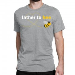 Father To Bee Classic T-shirt Designed By Sabriacar