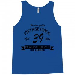 wintage chick 39 Tank Top | Artistshot