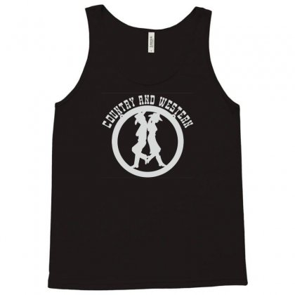 Country And Western Music Tank Top Designed By Lub1s