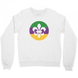 mardi gras symbol grunge Crewneck Sweatshirt   Artistshot
