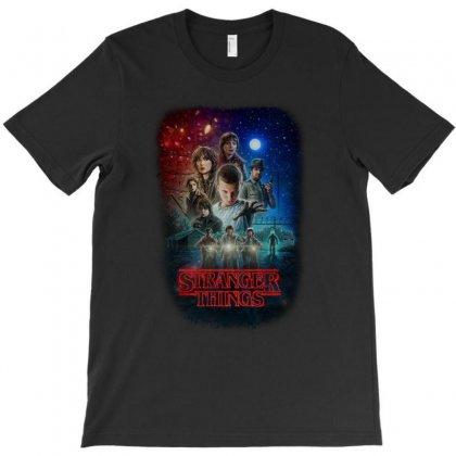Stranger Things Poster T-shirt Designed By Vr46