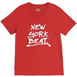 newyork beat for dark V-Neck Tee   Artistshot